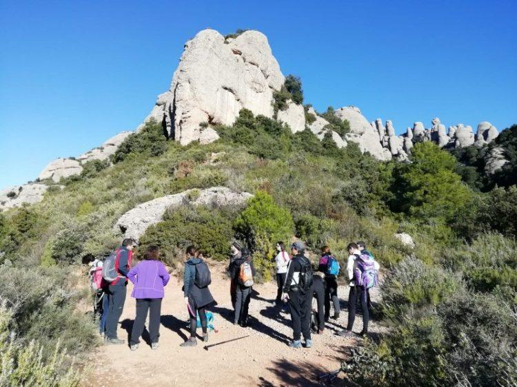 Zona de Agulles. Parque natural de Montserrat.